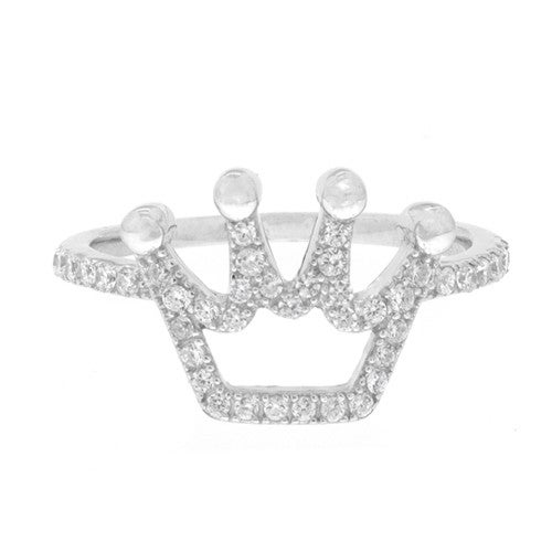 Image of Ladies Princess Crown Ring