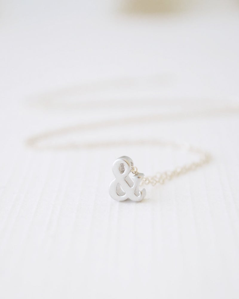 Image of Ampersand Necklace