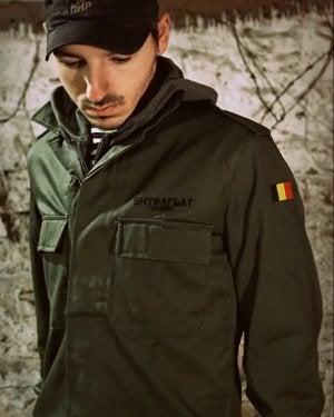 Image of SH140 [MIR EAGLE] Vintage Belgian BDU Jacket