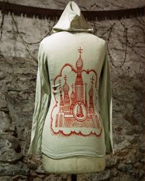 Image of MIR130 [Cathedral of SIN] Women's Thermal Hoodie