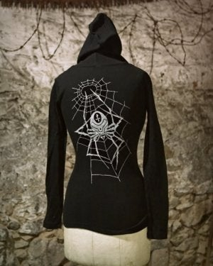 Image of MIR131 [THE KOT CONNECTION] Women's Thermal Hoodie