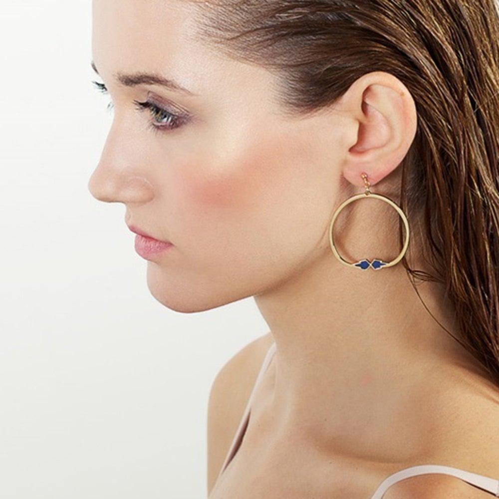 Boucles d'oreilles Ausgang - Anne Thomas