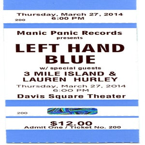 Image of Admission - Manic Panic Records presents 3/27 at the Davis Square Theater