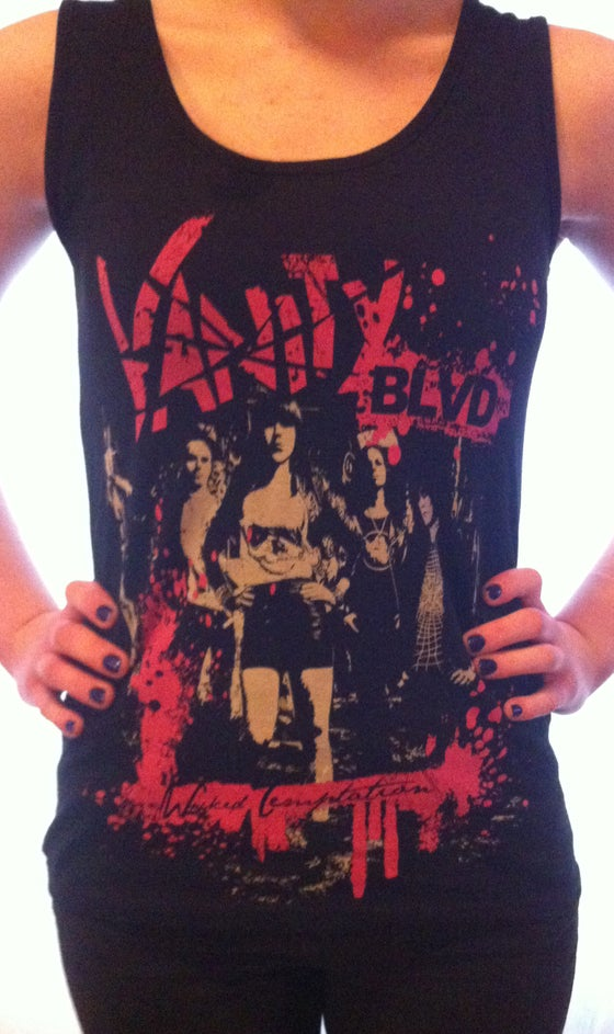 Image of Tanktop Wicked Temptation- Ladies
