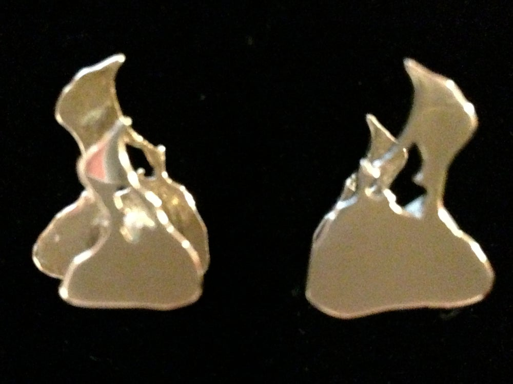 Image of Sterling Silver Block Island Cuff Links