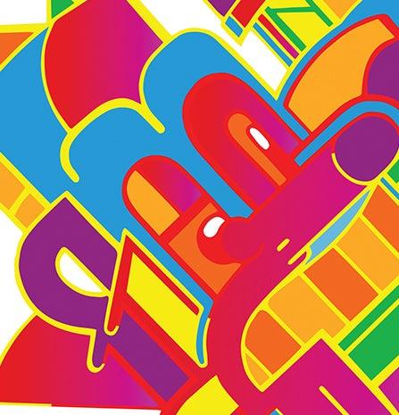 Image of 2014 - Color burst