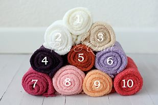Image of Peas and Quiet Classic Stretch Knit Wraps-Pinks