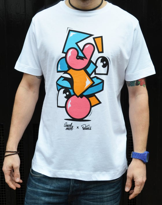 Image of SNOBMOB X MR PENFOLD - COME HEAVY T-SHIRT