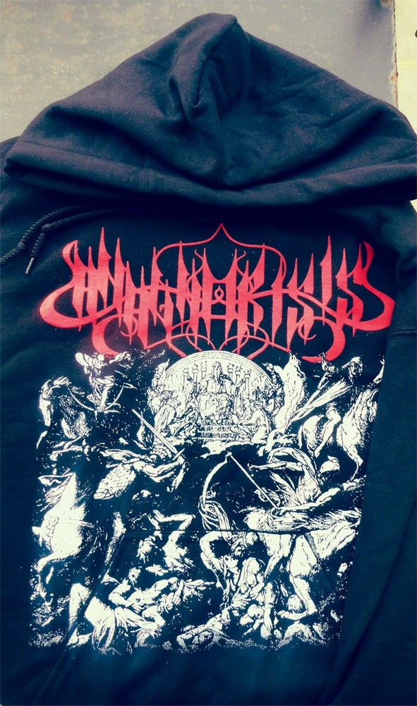 Image of Four Horsemen Hoodie (two-sided)