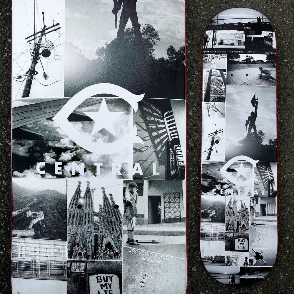 Image of Central Skate Co x Casualthinking Skate Deck