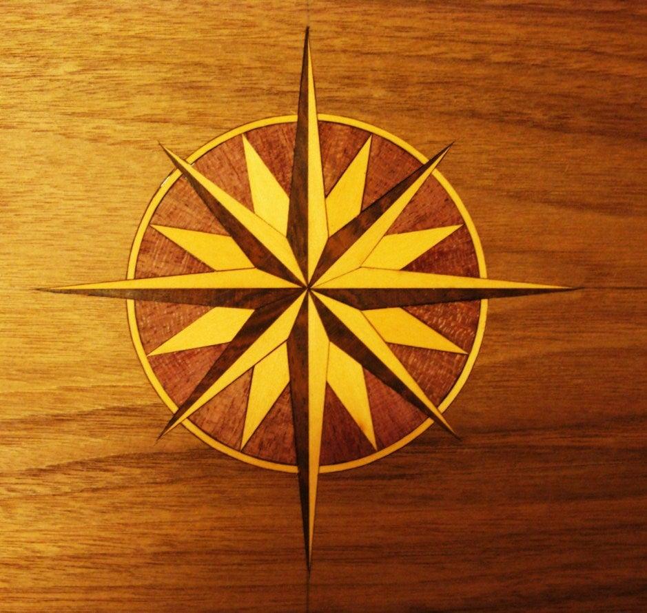 Image of Item No. 32. Beautiful Compass Star.