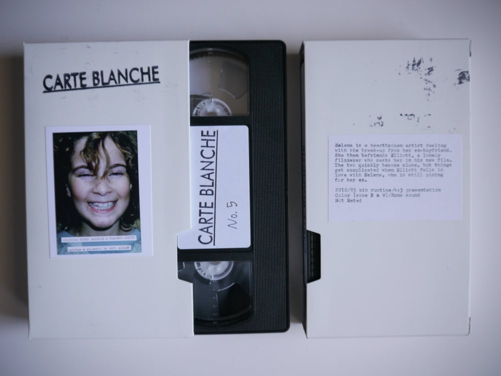 Image of Carte Blanche VHS Edition