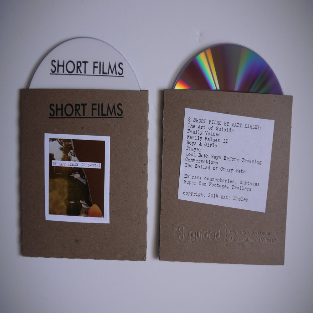Image of Short films by Matt Kieley (2005-2012) DVD