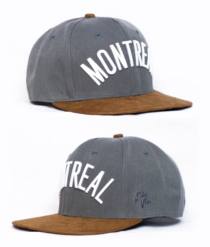 Image of Montreal Suede/Leather Strapback