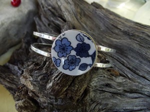 Image of Blue Floral Bracelet