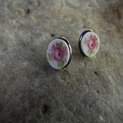 Image of Texas Rose earrings post