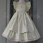 Image of Miss Pamela Flutter tie back Dress