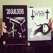 Image of 20 GUILDERS / WE HAVE HEAVEN split LP vinyl