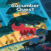 Image of Cucumber Quest Book 2 (Hardcover)