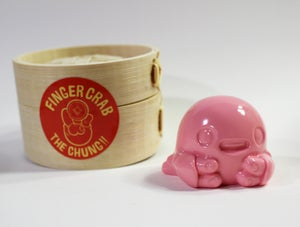 Image of Finger-Crab - Solid Pink