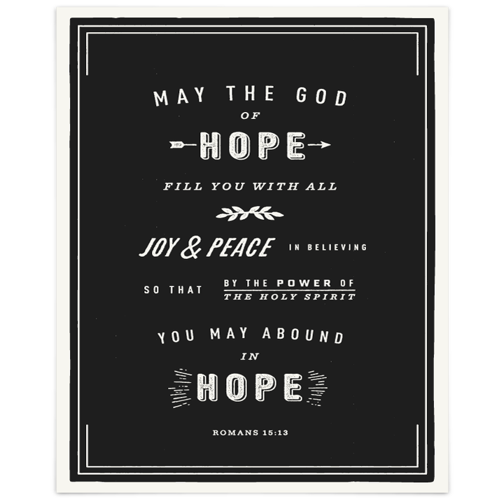 Image of Romans 15:13