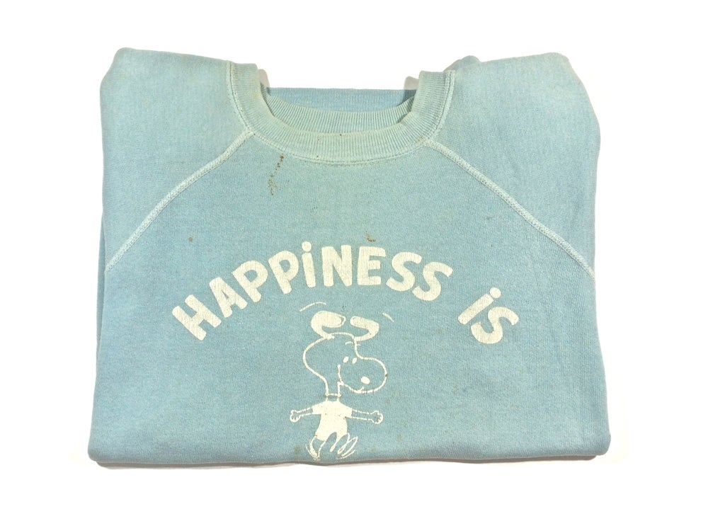 "Image of Vintage 60's Snoopy Sweatshirt ""happiness Is"""