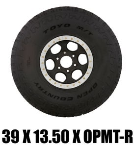 Image of Toyo Off Road Racing Tire - 39x13.50x17 OPMT-R