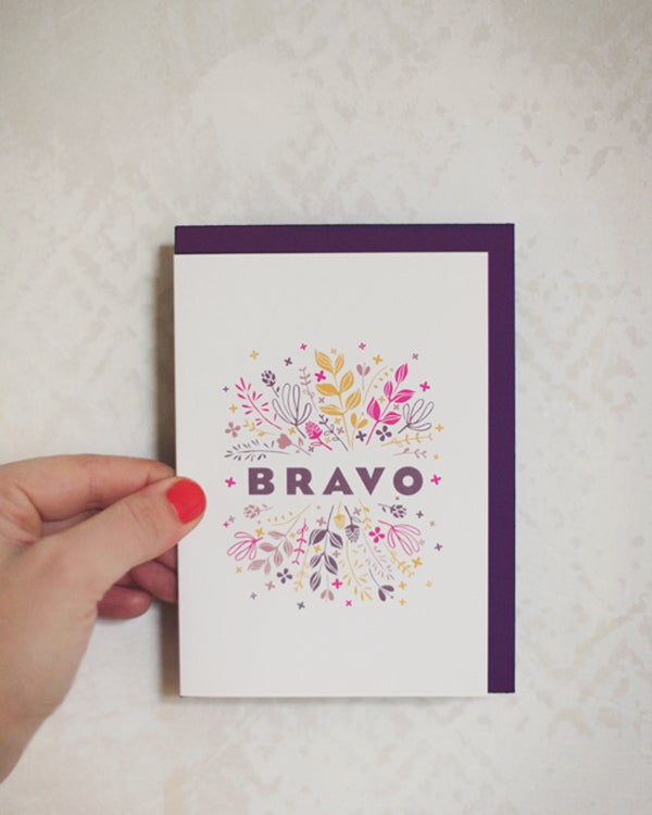 Image of BRADERIE -40% • Carte Bravo