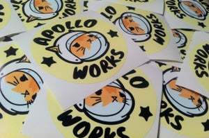 Image of Apollo Works Sticker