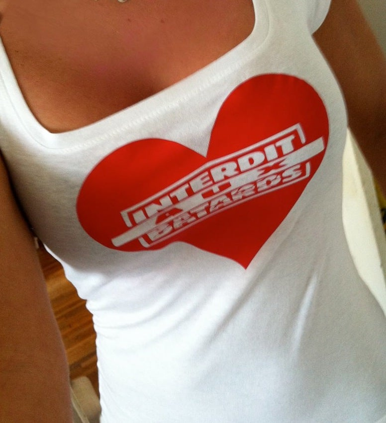 Image of Tshirt- Femme Interdit Aux Batards