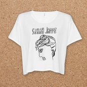 Image of Sarah Jaffe : Portrait Crop Top Shirt