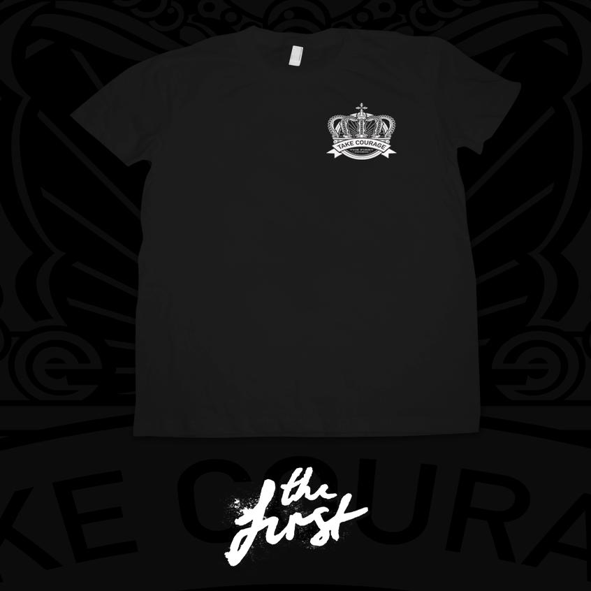 Image of Crown Emblem T-Shirt - Black