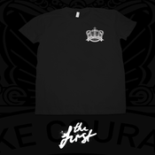 Image of Crown Emblem T-Shirt - Black