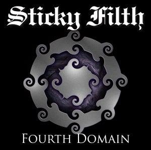 Image of Sticky Filth - Fourth Domain Double Gatefold LP - GOLD VINYL