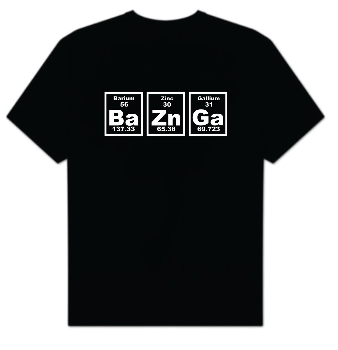 The Big Bang Theory Sheldon Cooper Bazinga T Shirt T