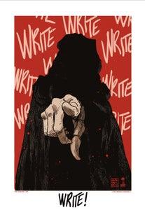 Image of Lady Deathline - WRITE!