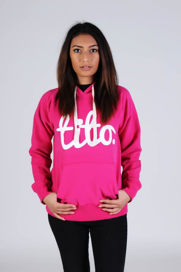 Image of Pink Classic Pullover