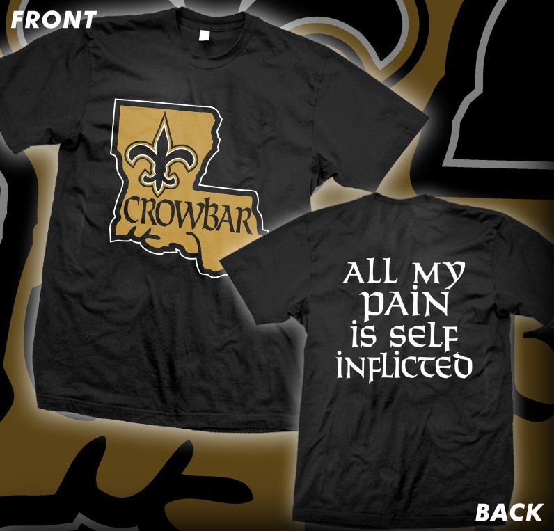 "Image of CROWBAR ""Louisiana"" T-shirt"