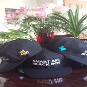 Image of Trill City x Fat Tony | Smart Ass Black Boy Hat