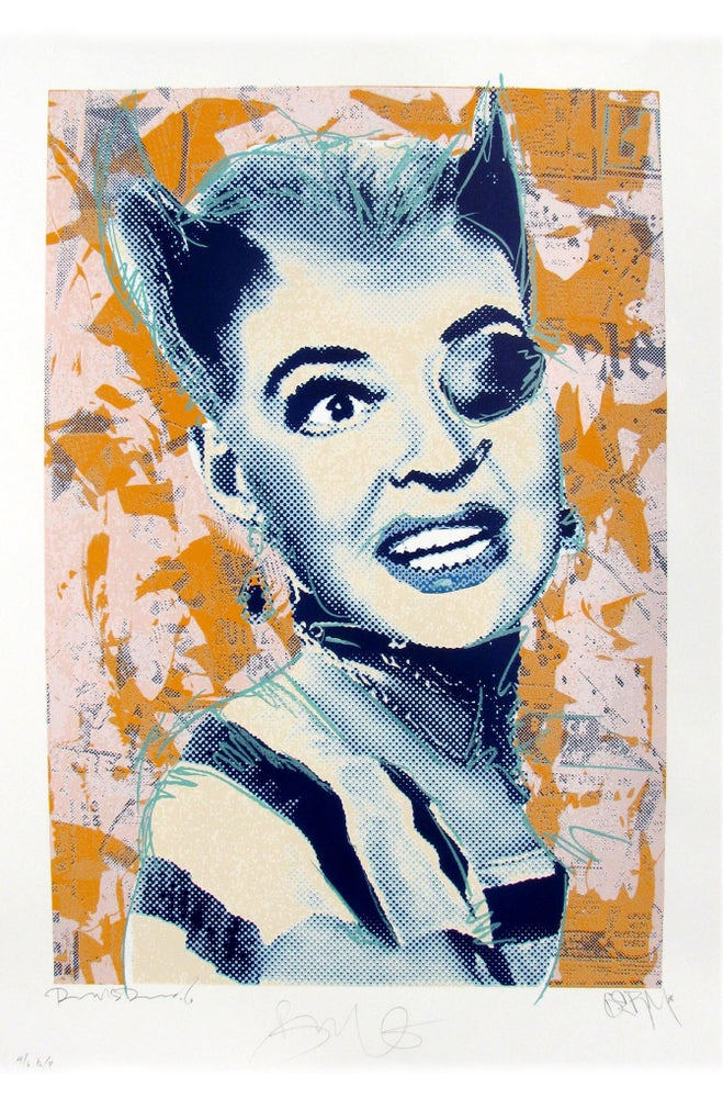 "Image of Punk Bette ""Blue Face"""