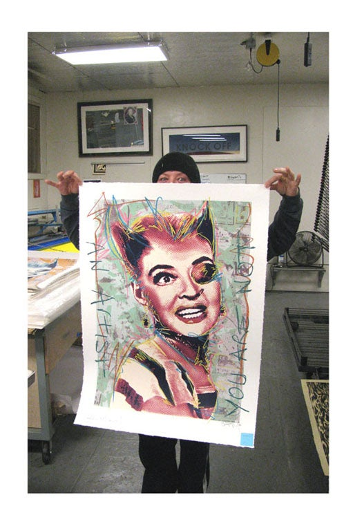 """Image of """"Punk Bette"""" HPM 5 of 10"""