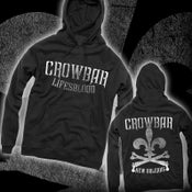 "Image of CROWBAR ""Lifesblood"" Hooded Sweatshirt"