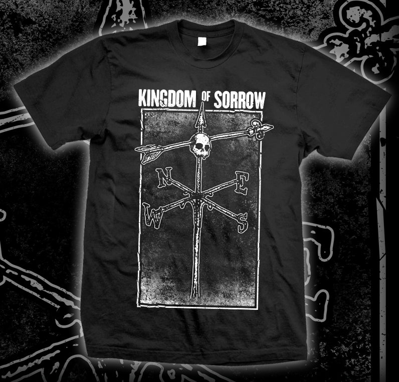 "Image of KINGDOM OF SORROW ""Weathervane"" T-shirt"