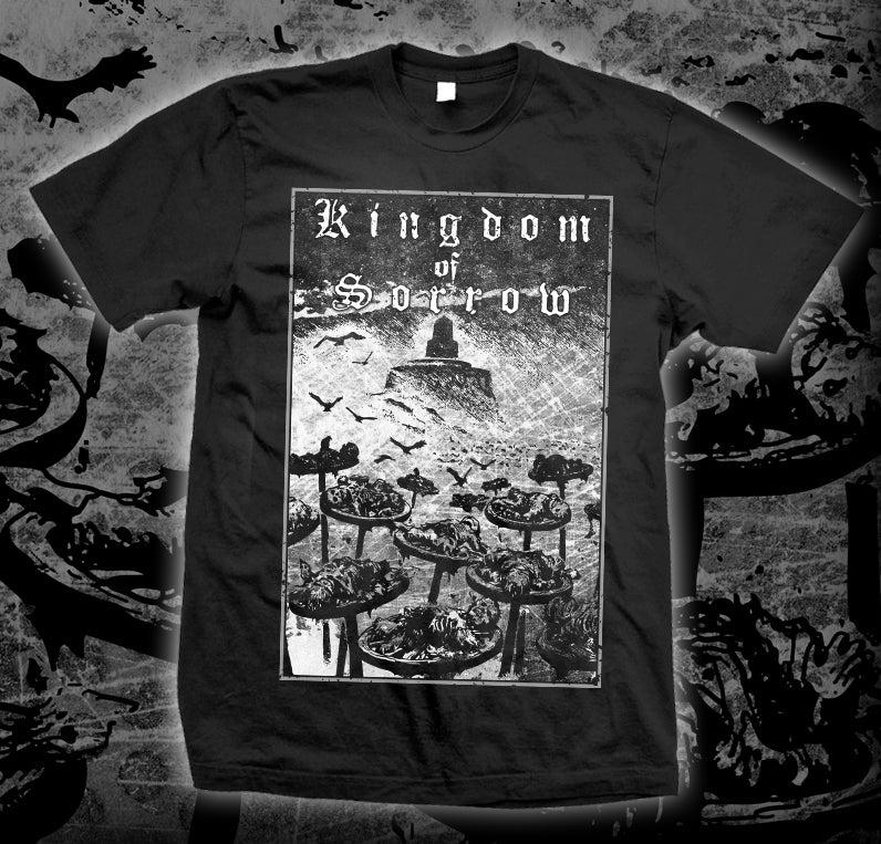 "Image of KINGDOM OF SORROW ""The Wheel"" T-shirt"