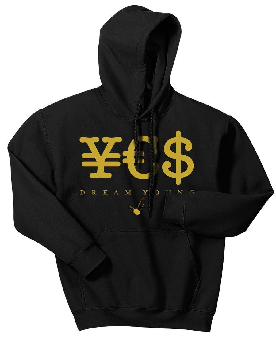 """Image of """"¥€$"""" BLACK/HOODY"""
