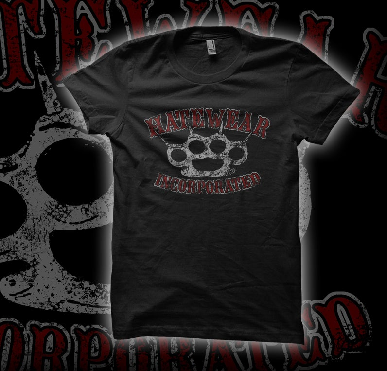Image of HATEWEAR Ladies Knuckles Shirt