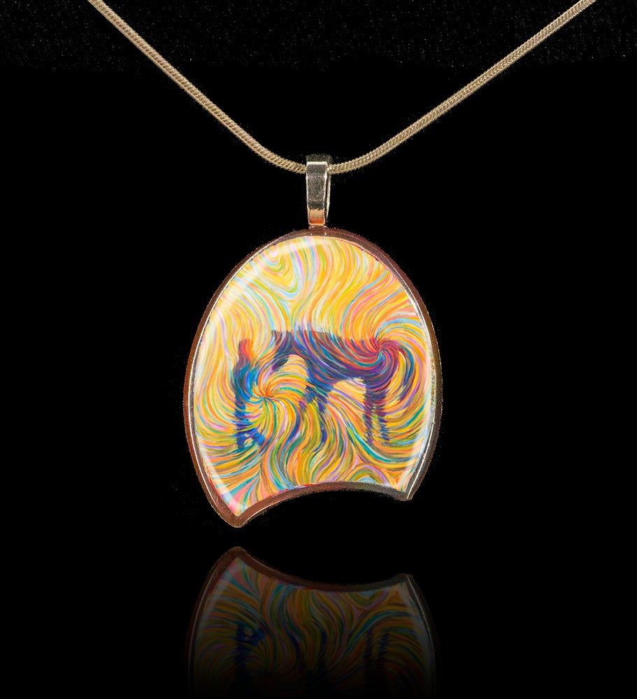 Image of Just Us Pendant - The lifelong bond between a girl and her horse