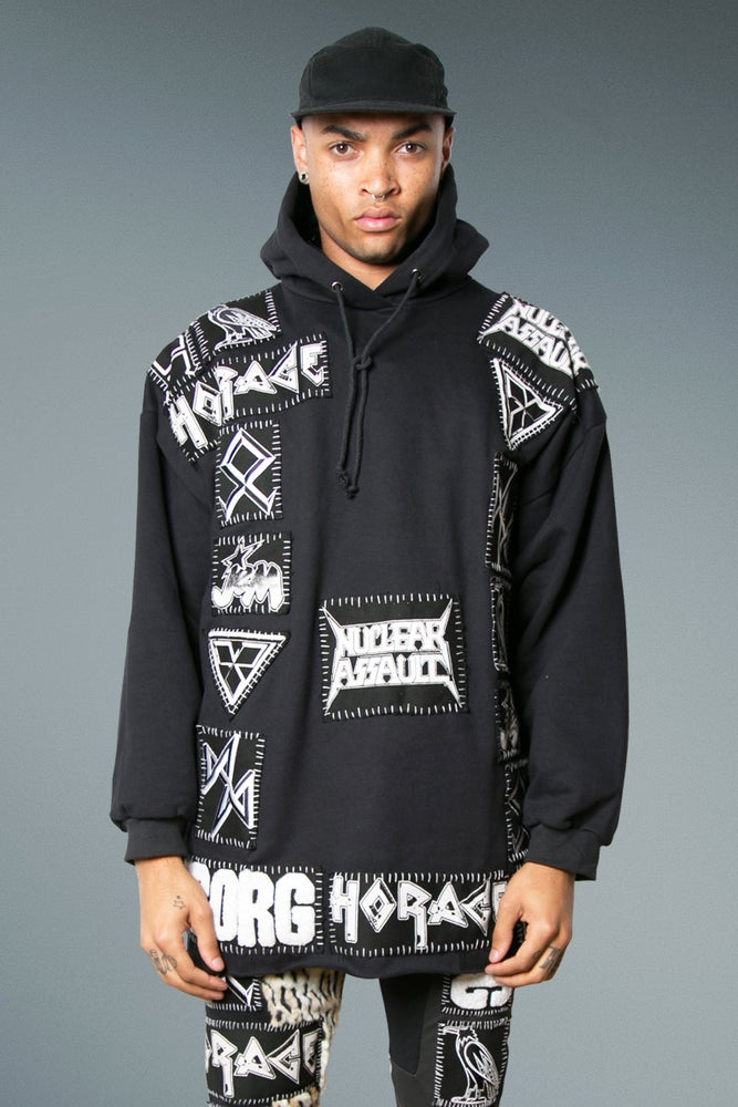 Image of Hoody With Badges