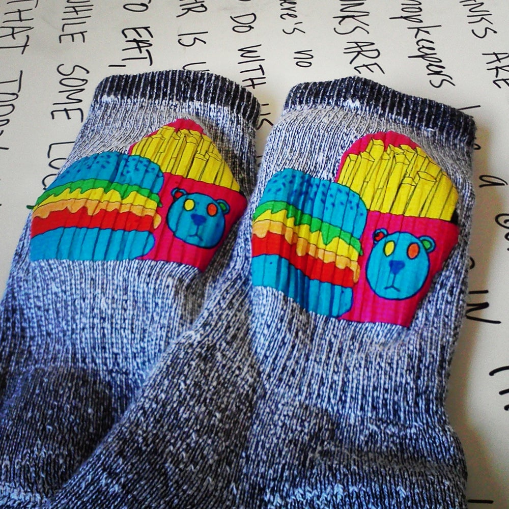 "Image of ""Boigers & Fries"" Socks"