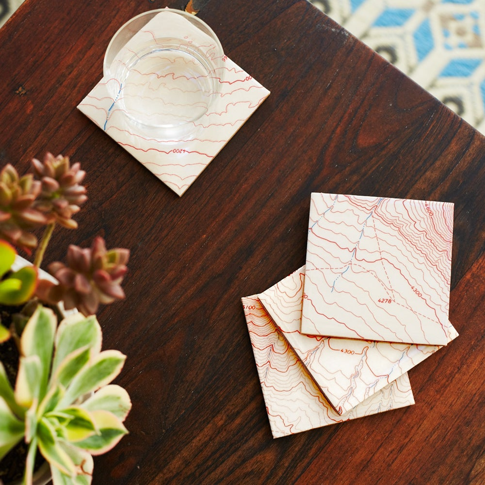 Image of Map Coasters